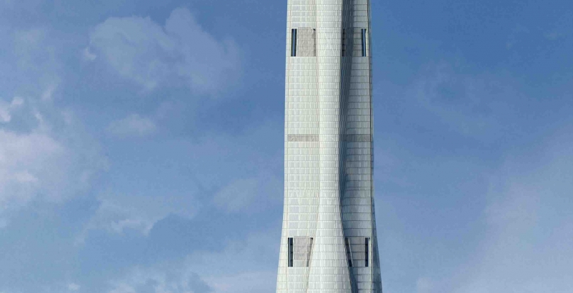 The 4.2-million-sf (389,980-square-meters) project has been designed to LEED go