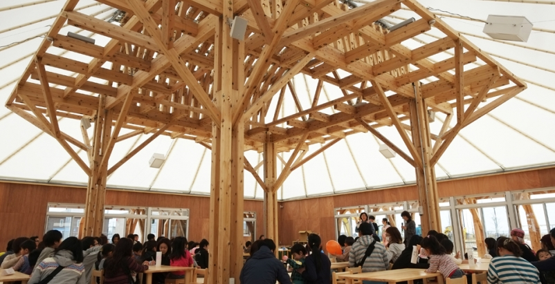 Mitazono Wakaba, Architecture for Humanity, bankruptcy, nonprofit