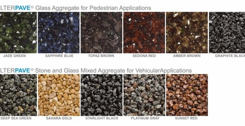 FilterPave Products Products now offers its line of poured-in-place pervious pav