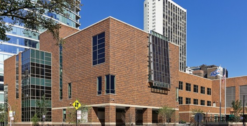 2012 Brick in Architecture Winner: Ogden International School of Chicago. Photo: