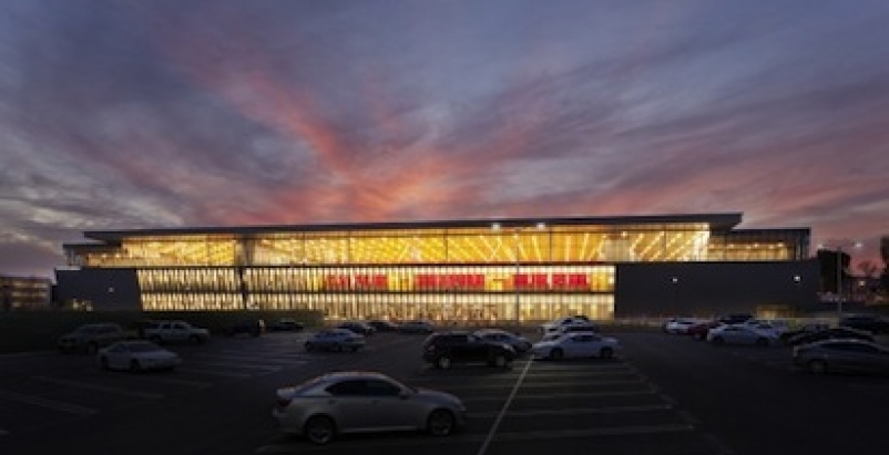 The Cal State Northridge Student Recreation Center is among five educational pro