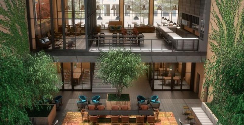 Hilton launches boutique hotel chain building design for Design hotel chain