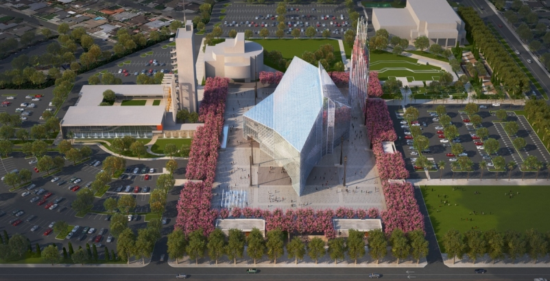 Renderings courtesy of the Roman Catholic Diocese of Orange