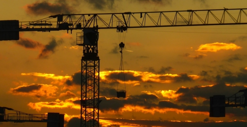 Nonresidential construction spending surges in April