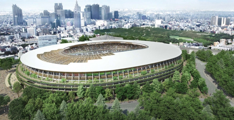 Tokyo down to two finalists for Olympic Stadium design