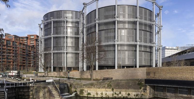 The gasholders London