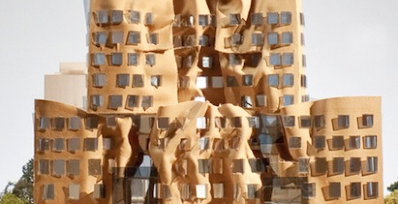 The Dr Chau Chak Wing Building is Frank Gehry's first project in Sydney. All ima