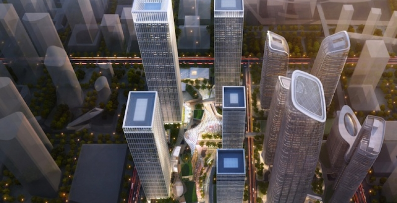 Renderings courtesy of Goettsch Partners