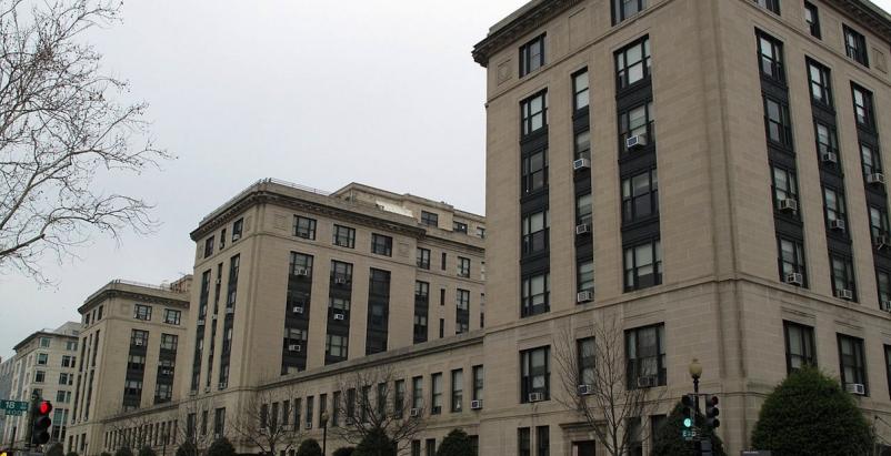U.S. General Services Administration Building-E Street facade. Photo: General Se