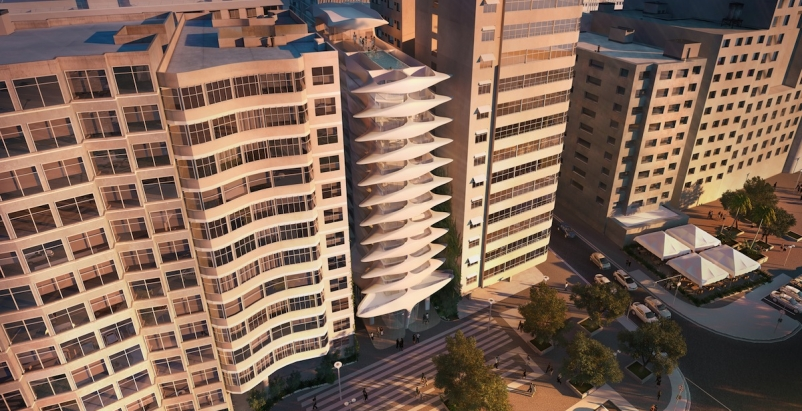 Luxury high-rise is Zaha Hadid's first foray into South America