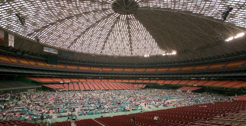Another plan for renovating Houston's Astrodome blends public space and history