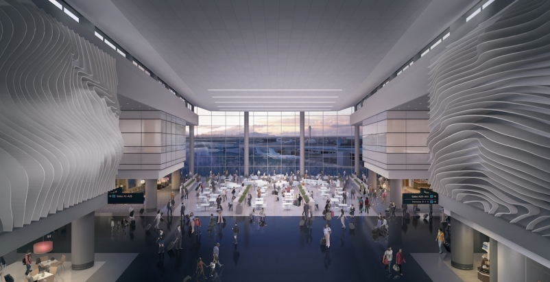 HOK designs new terminal for Salt Lake City International Airport
