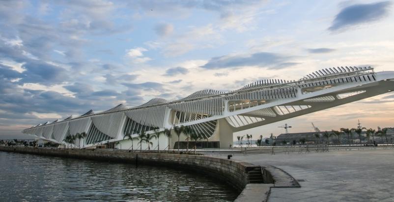 Santiago Calatrava-designed museum opens in Rio