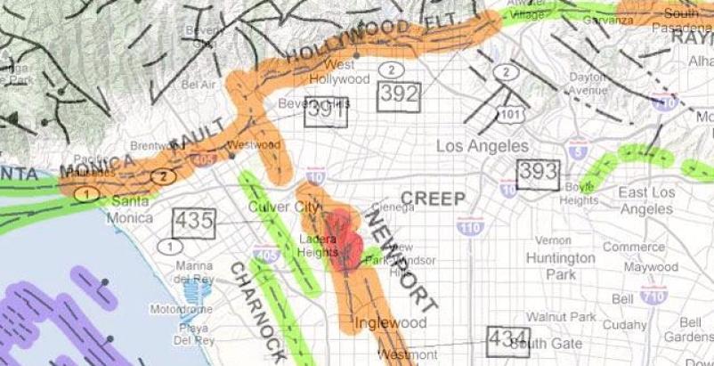 Map: USGS