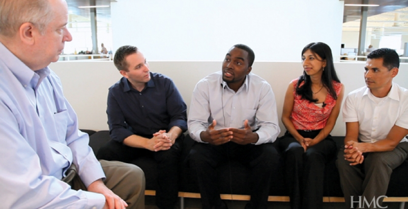 Four HMC professionals who were recently promoted to Associate talk about their