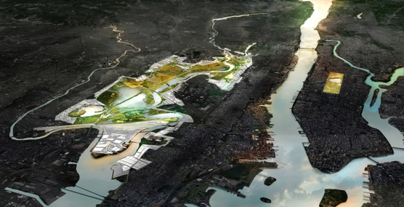 New Meadowlands: Productive City + Regional Park by MIT CAU + ZUS + URBANISTEN.