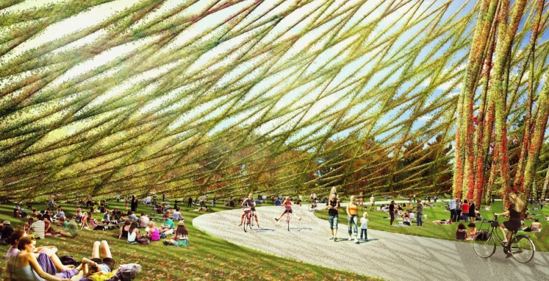 Studio Dror designs geodesic dome to pair with the Montreal Biosphère