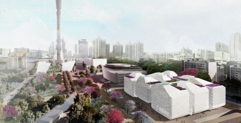Nieto Sobejano Arquitectos and gmp Architekten win Guangzhou museum competition