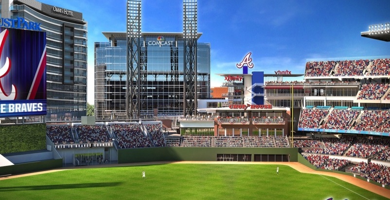 Atlanta Braves partner with Omni Hotels & Resorts to build hotel near new Suntrust Park