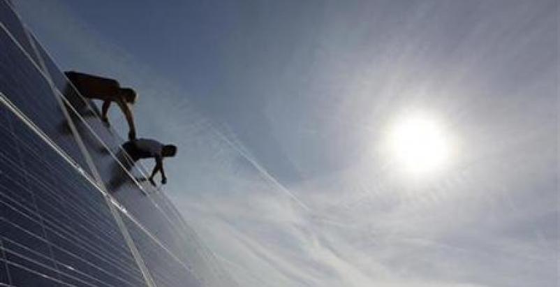 LEED solar PVs construction worker risks