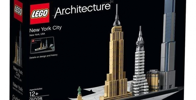 New LEGO line lets builders construct iconic skylines