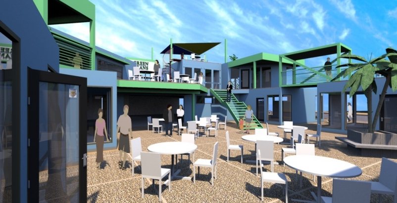 New shipping container complex begins construction in Albuquerque