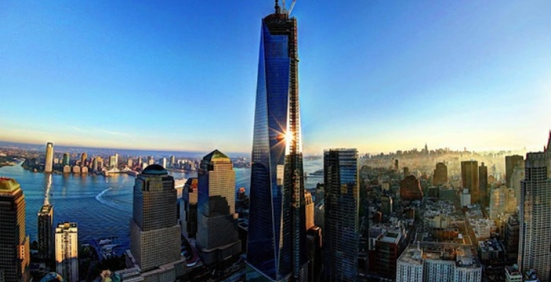 One World Trade Center, courtesy Cushman & Wakefield