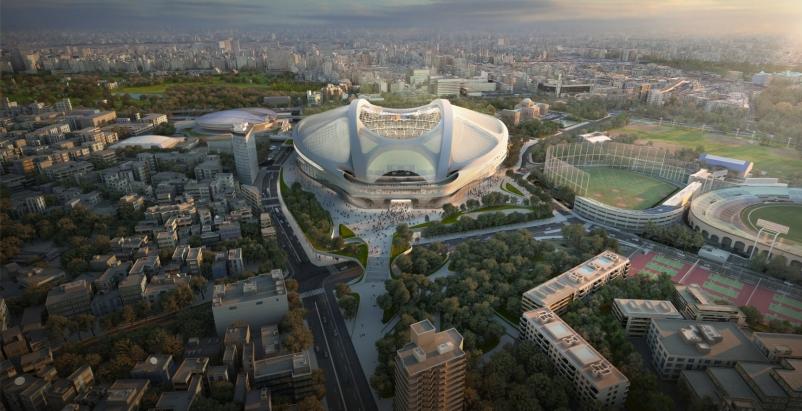 Zaha Hadid responds to Tokyo Olympic Stadium controversy
