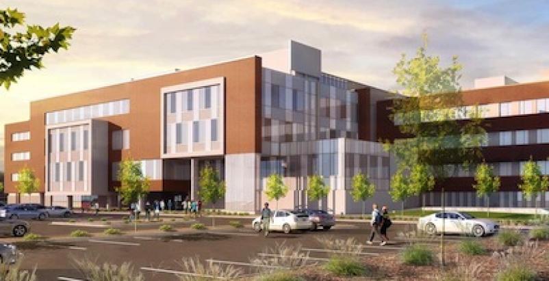 New School of Medicine and Health Sciences Building, University of North Dakota,