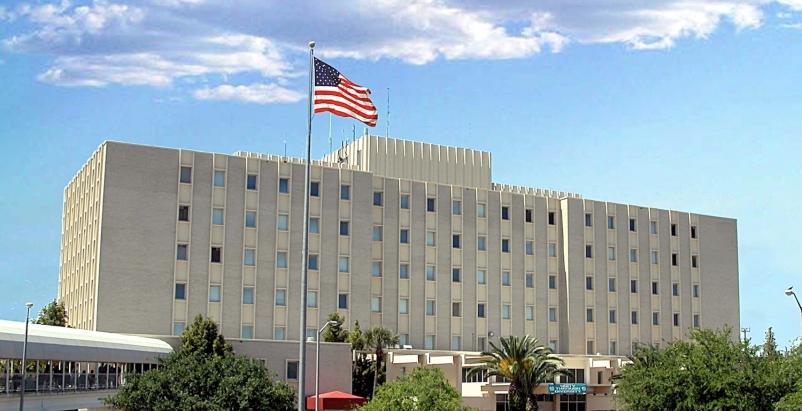 Tampa VA Hospital. Photo: courtesy VA