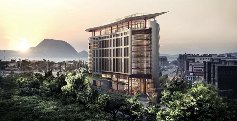 Nova Hotel, Abuja, Nigeria; Courtesy: WATG