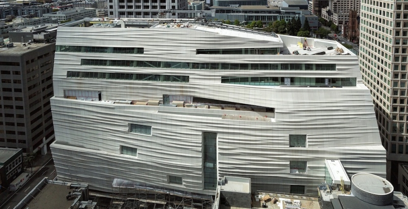 Rippled façade defines Snøhetta's San Francisco Museum of Modern Art expansion design