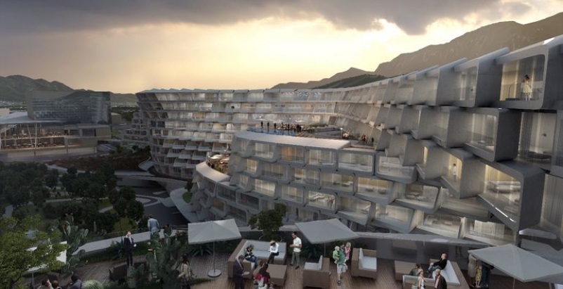 Zaha Hadid unveils 'interlocking lattice' design for luxury apartments in Monterrey, Mexico