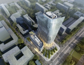 Goettsch Partners unveils plans for dual office towers in Warsaw