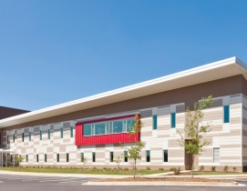 The 34,000-sf Adamsville Regional Health Center, designed by Stanley Beaman & Se