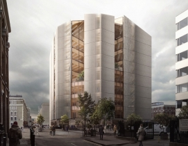 Waugh Thistleton designs one of the tallest timber office buildings in London
