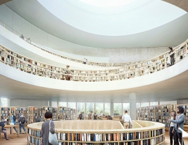 New renderings released for Herzog & de Meuron's National Library of Israel