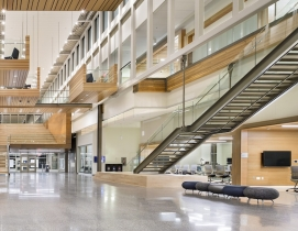 "New University of Calgary research center features reconfigurable ""spine"""