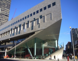 New York's Juilliard School, renovated in 2009 by Diller Scofidio + Renfro