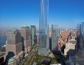 One World Trade Center aims to be one of the most sustainable office buildings