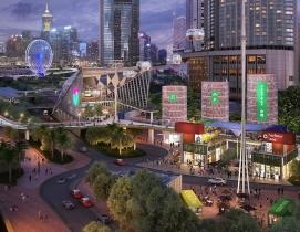 Lead 8 and BuroHappold design Hong Kong waterfront pedestrian network