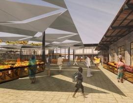 PAB Architects designs marketplace to centralize Senegal street vending
