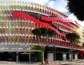The city of Santa Monica, Calif.'s Parking Structure 6 won for Best Design of a