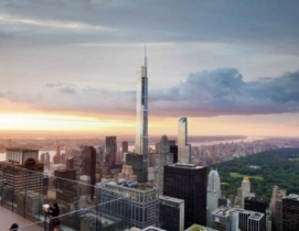 Size matters in NYC, where several projects vie for the city's tallest building honor