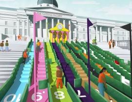 Notable architects design mini-golf holes for London Design Festival