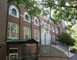 Huddleston Hall on the UNH campus.