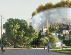 MVRDV designs a 'Disco Ball' for Rotterdam