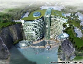 InterContinental Shimao Shanghai Wonderland is expected to extend 19 stories int