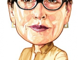 Nila Leiserowitz (Tribune illustration by Rick Tuma).