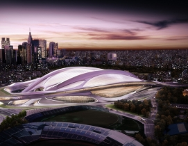 Japan announces new plan for Olympic Stadium